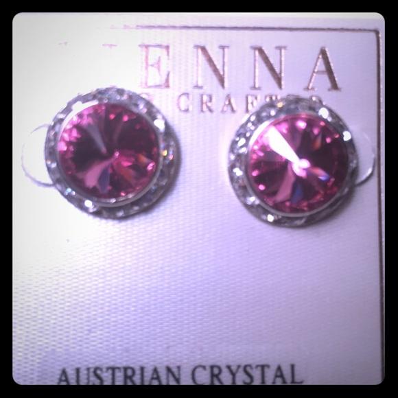 2546b03a6 Sienna Jewelry | Pretty Austrian Crystal Stud Earrings | Poshmark
